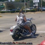 That Awkward Moment When You Realize Bikers Are No Longer Tough   camo cheetah biker meanwhileinamerica 150x150