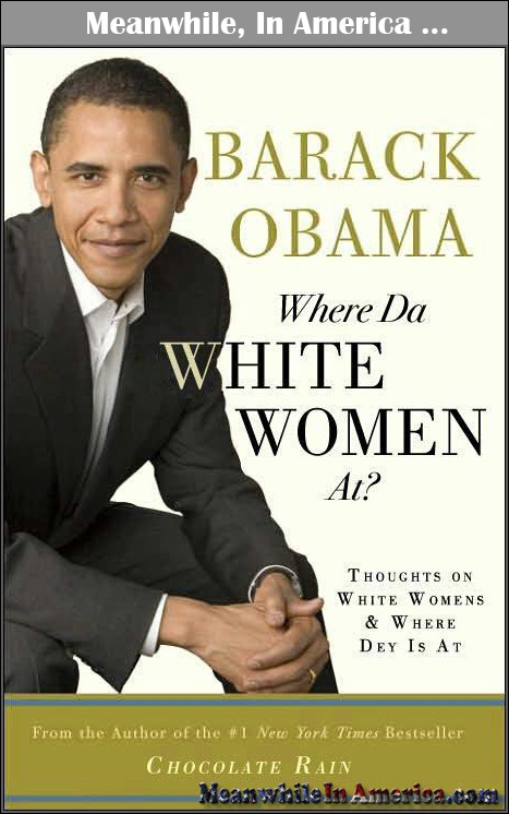If Ya Did There Wouldnt Be a Shortage of AssWipes (Toilet Paper)   obama where da white women at book Meanwhile In America