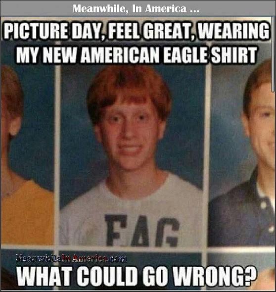 American Eagle Fag   american eagle fag Meanwhile In America 558x590