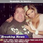 The Way to a Mans Heart May be Through His Stomach, But the Way to a Womans Heart is ...   hideous lottery winner finds love Meanwhile In America 150x150