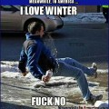 Nothing Funnier Than Watching People Slip On Ice!   love winter fuck no Meanwhile In America 120x120c