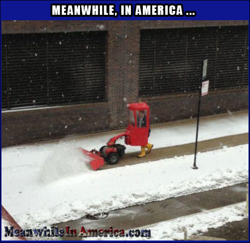 All the Comforts of Home   snow Meanwhile In America 19