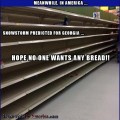 All the Comforts of Home   snow storm georgia empty bread isle grocery store panic Meanwhile In America 120x120c
