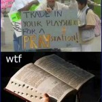 Bro, just bring the Funyuns ...   praystation bible graphics suck Meanwhile In America 150x150c