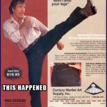 If Ya Did There Wouldnt Be a Shortage of AssWipes (Toilet Paper)   Chuck Norris Action Jeans Ad Meanwhile In America 150x150c