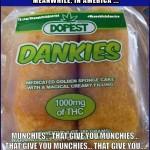 OMFG Open the Salons!   Dankies Weed Marijuana Munchies Twinkies Meanwhile In America 150x150c
