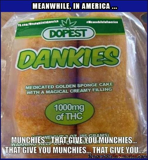 Killing 2 Birds with One Stone   Dankies Weed Marijuana Munchies Twinkies Meanwhile In America