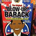 Jedi on the Streets ...   Meanwhile In America Barack Obama Blow Up Doll 150x150c