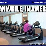 Vanilla Beiber   Meanwhile In America lazy fat chair treadmill 150x150c